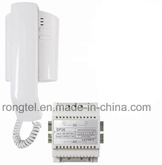 White Handset for Villa Intercom System