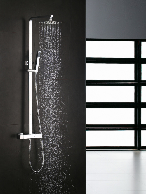 Square Thermostatic Shower Mixer Shower Faucet (GS2203-SF)
