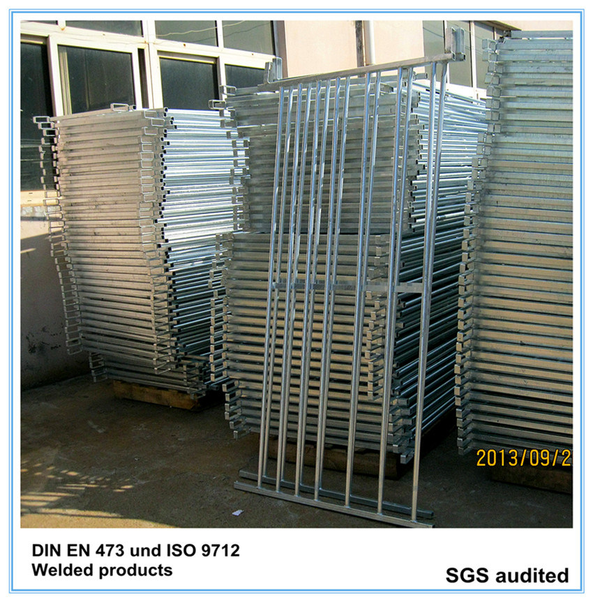 Galvanised 7 Rail Sheep Hurdle with Loops