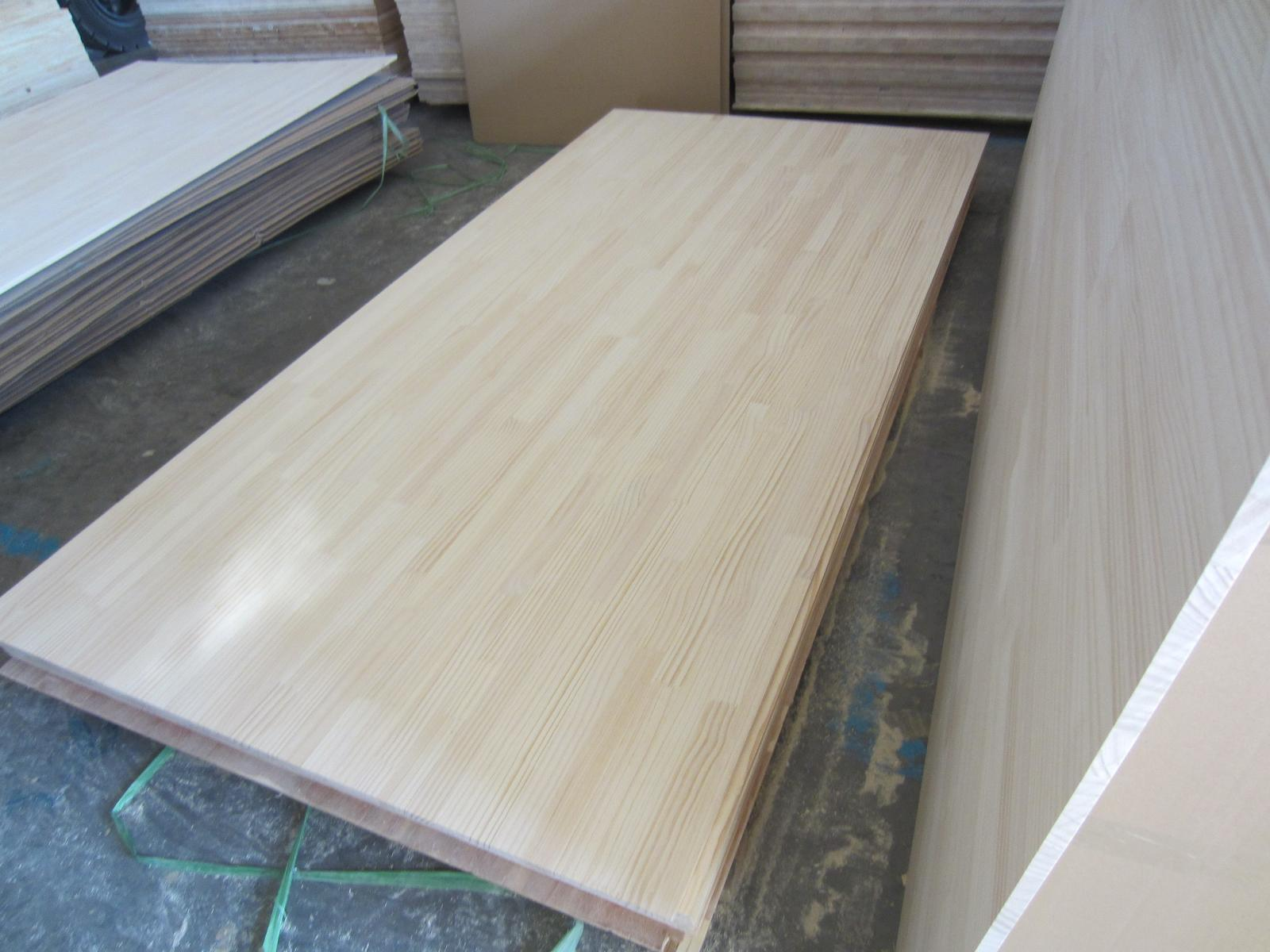 Chile Pine Finger Joint Board and Solid Edge Glue Panel