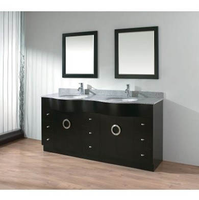 72 Double Sink Solid Wood Bathroom Vanity GB S9273 Photos Pictures