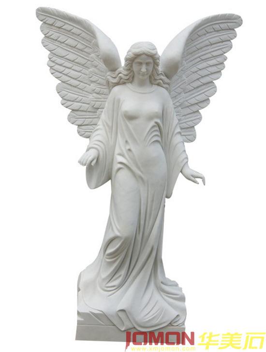Statue en pierre de marbre blanche d 39 ange xmj fg34 statue en pierre de marbre blanche d 39 ange - Statue d ange pour exterieur ...