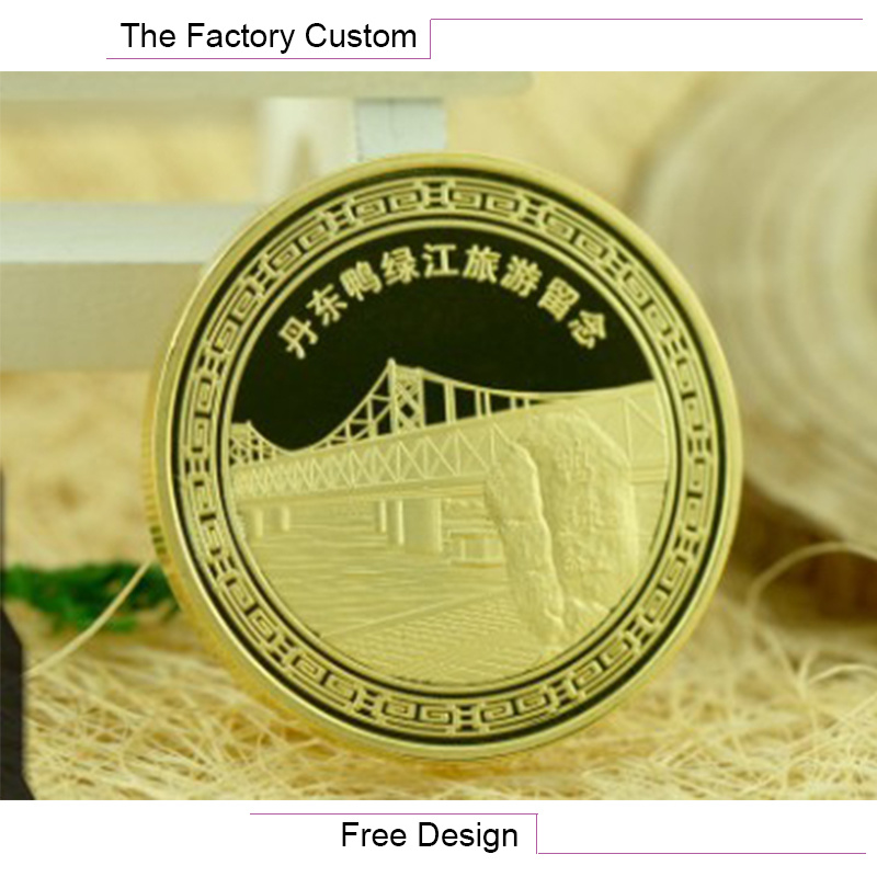 High Quali Metal Mirror Commemorative Coin