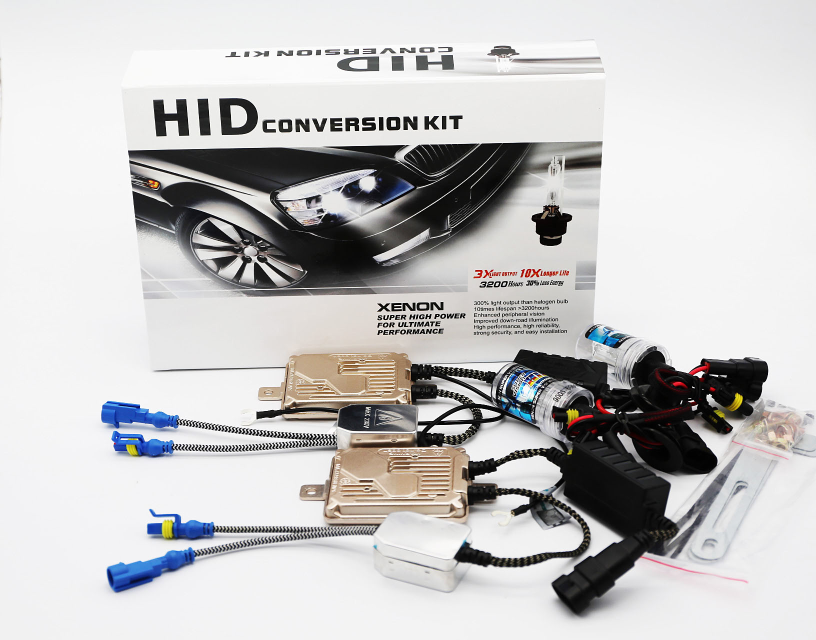 New High Quality Upgrade Error Free HID Canbus 35W 55W Canbus Ballast