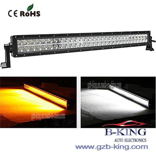 Double Color Amber/White LED Light Bar