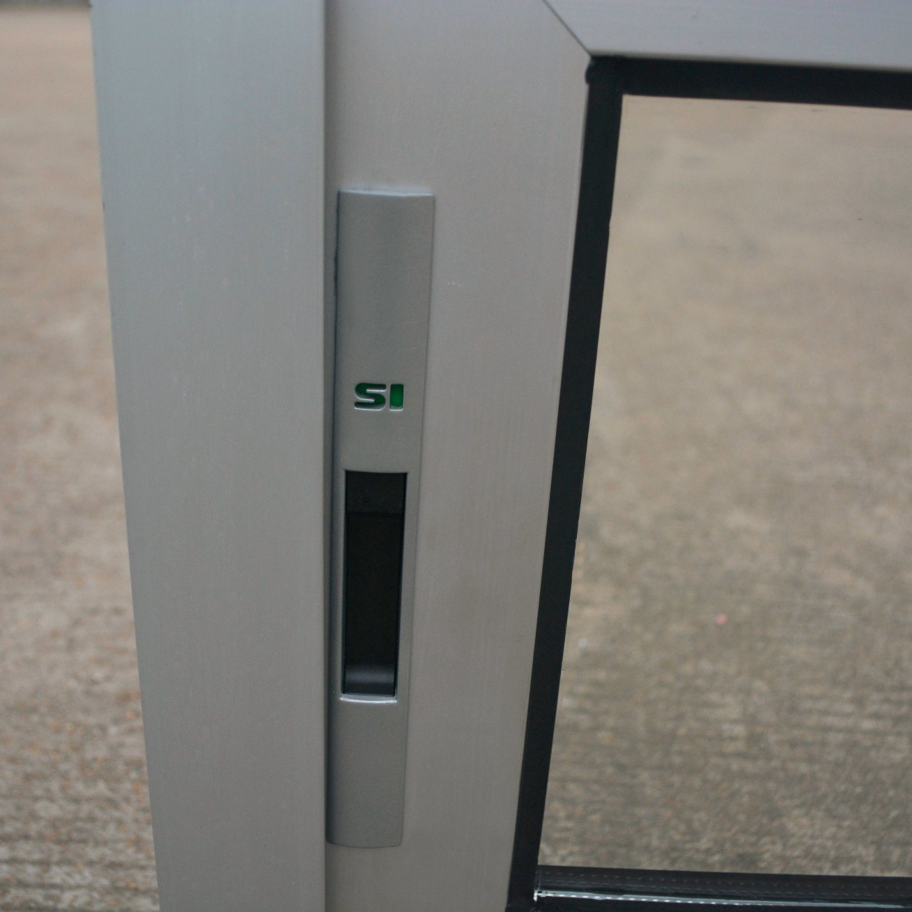 Powder Coated Thermal Break Aluminum Alloy Window with Latch Lock, Aluminum Sliding Window K01010