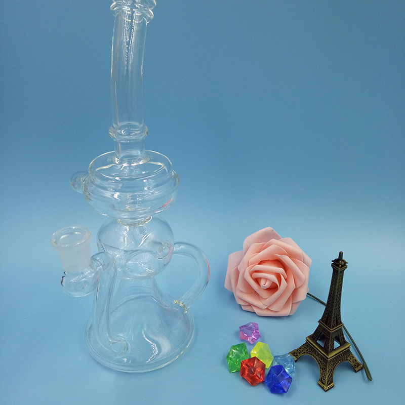 New Glass Smoking Water Pipe Recycler