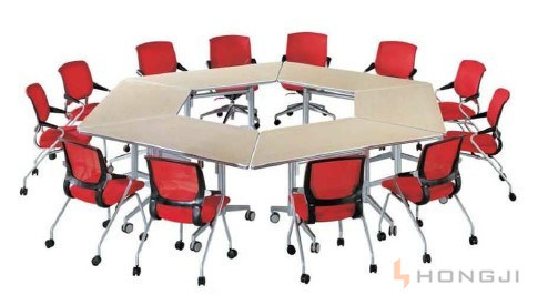 Mobile Folding Office Table and Chair & Library Table / Mesh Chair / Training Table