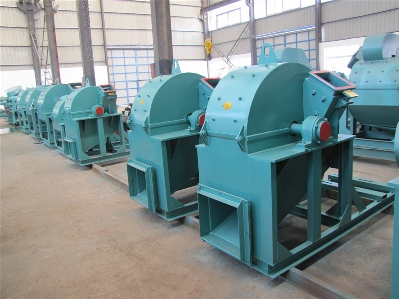 High Efficiency Wood Sawdust Machine