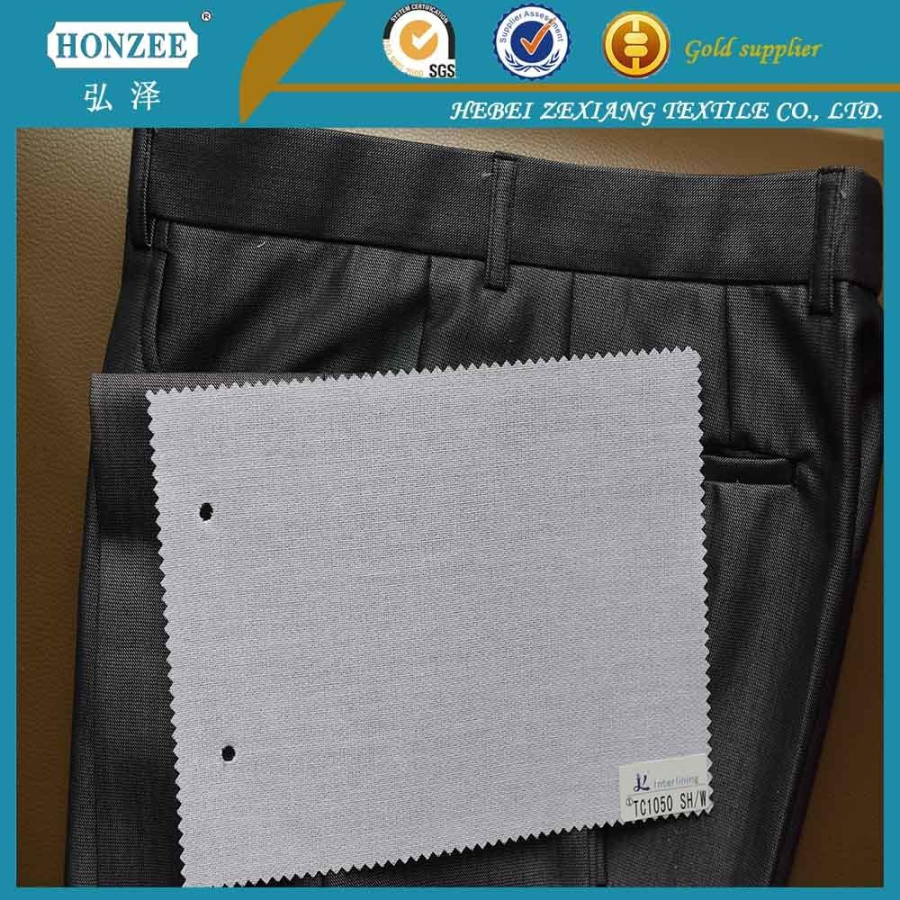 High Quality Nonwoven Shirt Collar Interlining Fusing