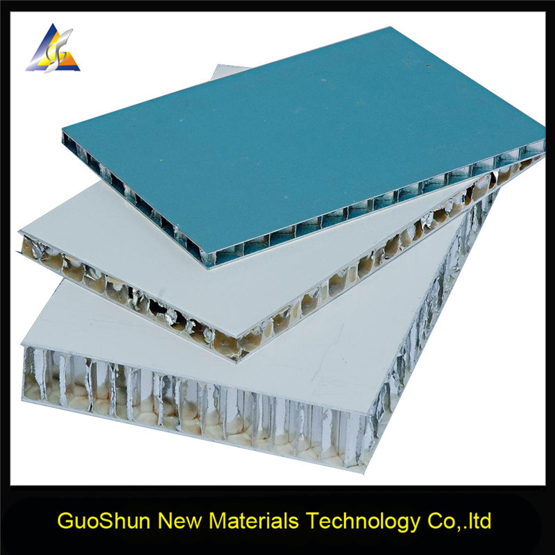 Excellent Rigidity & Strength Aluminum Honeycomb Panel Wall Cladding