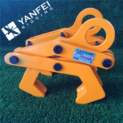 Ygc Rail Clamp Plate Clamp for Lifting