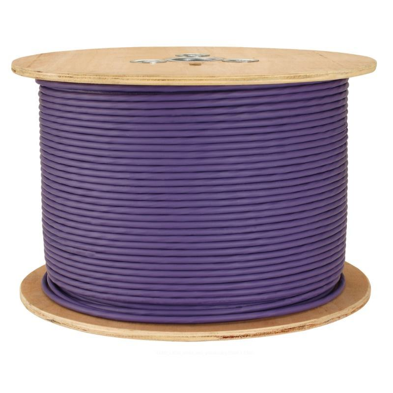 CAT6 UTP 23AWG PVC Jacket Bare Copper LAN Cable