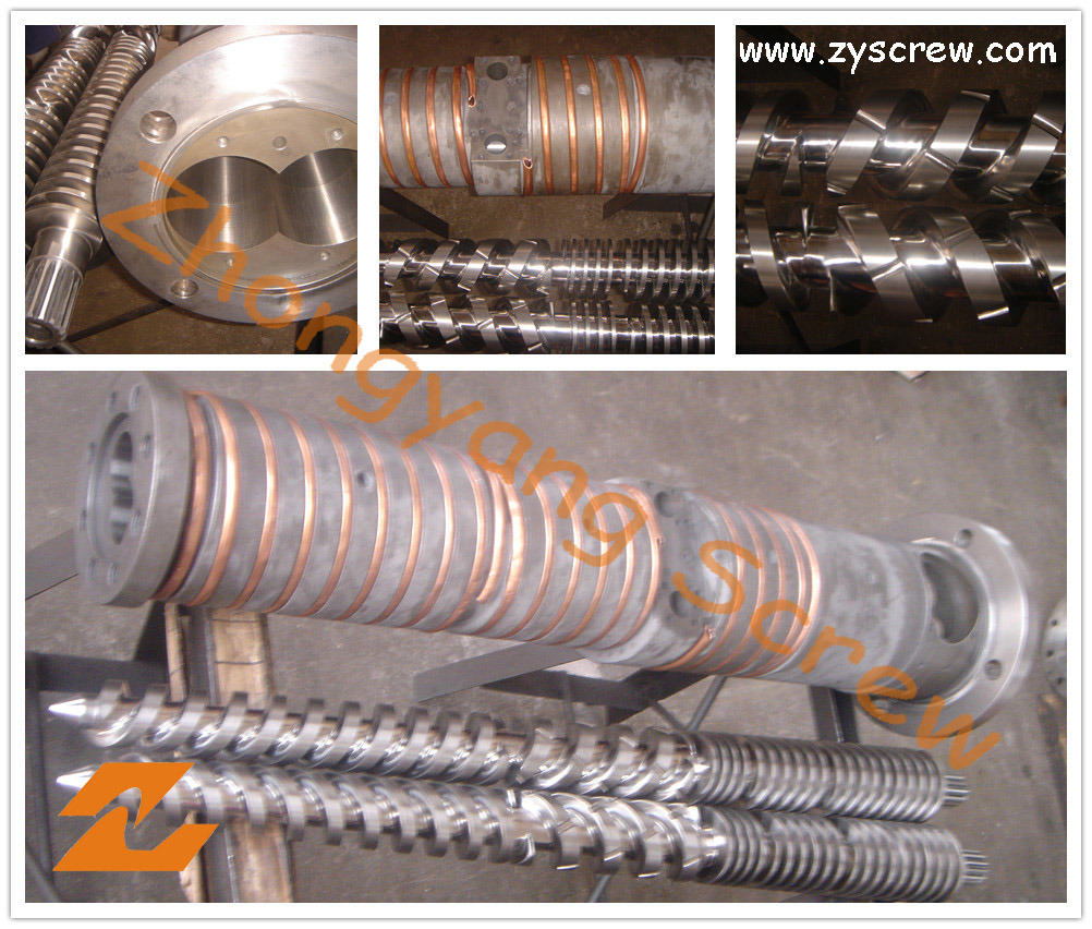 65/132 Conical Twin Screw and Barrel and PVC Conical Twin Screw Barrel