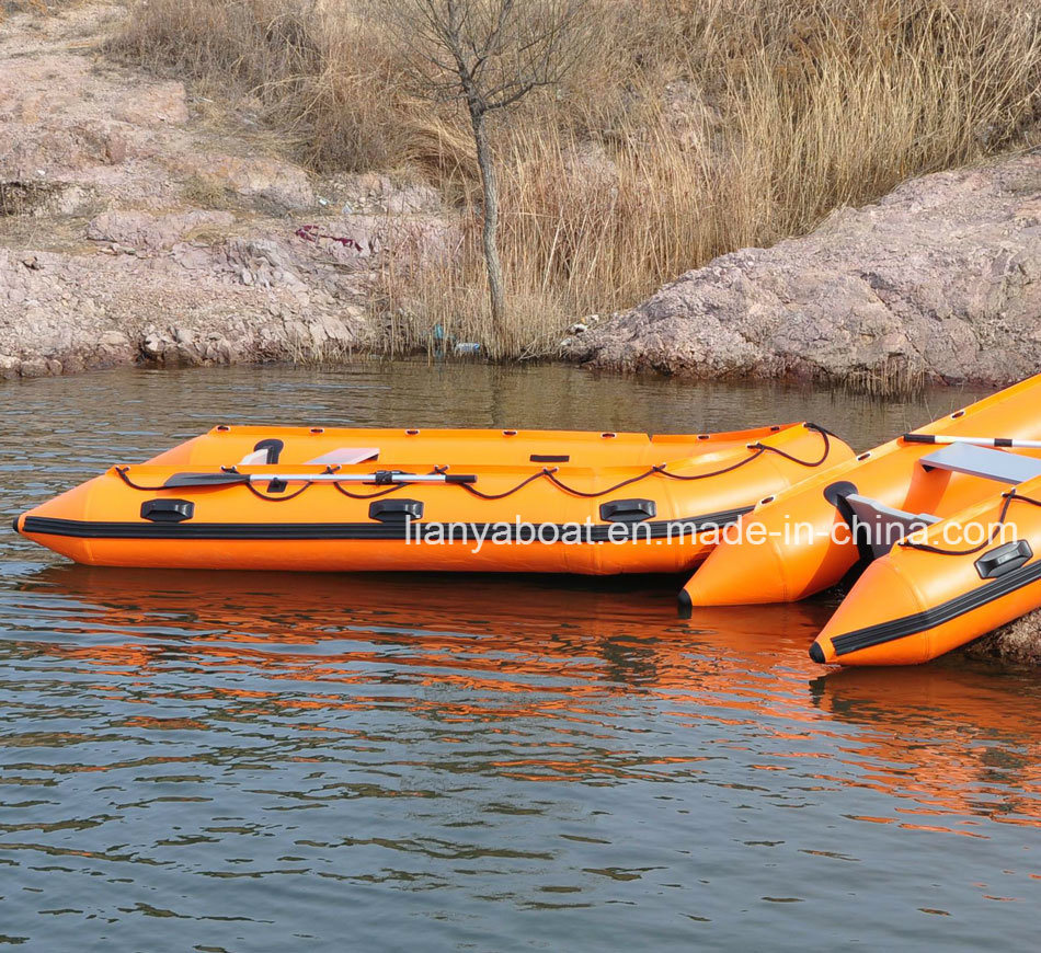 Liya 2-7m Foldable Inflatable Rescue Boat for Sale