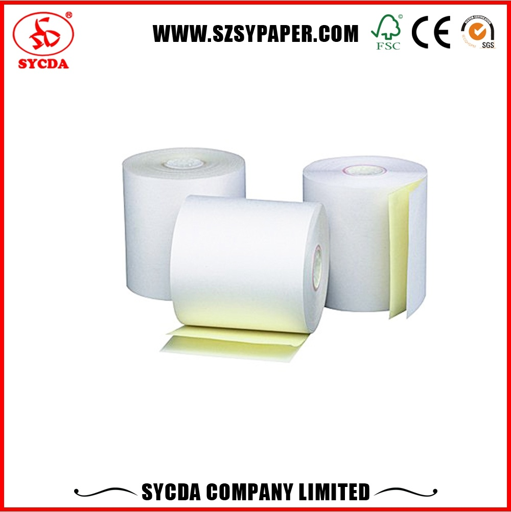 NCR Paper Rolls 2 Ply Carbonless Paper