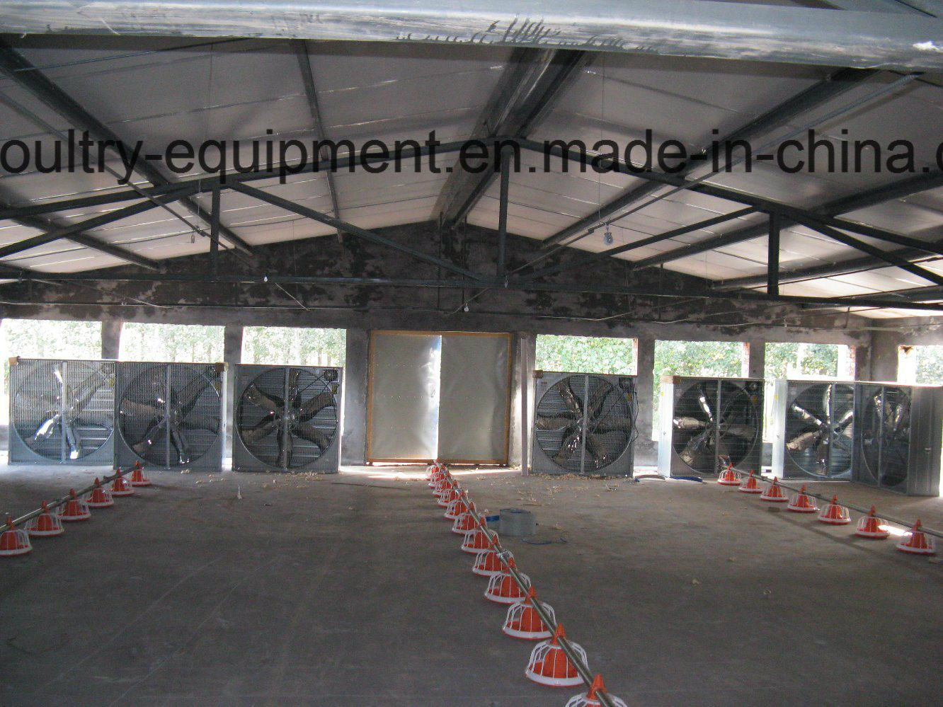 Automatic Broiler Chicken House Environment Control System