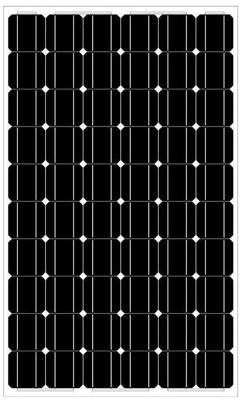 Mono Crystalline Solar Panel (DSP-280W)