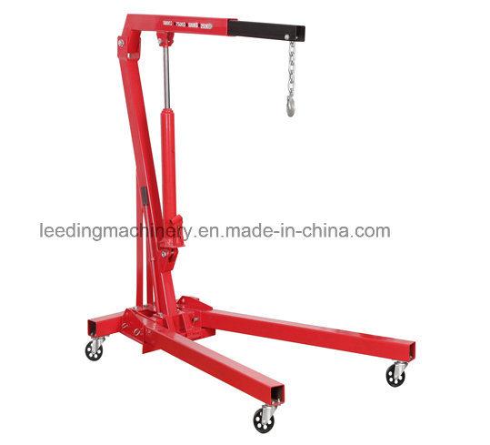 1ton Hydraulic Shop Crane Engine Cherry Picker Hoist Lift