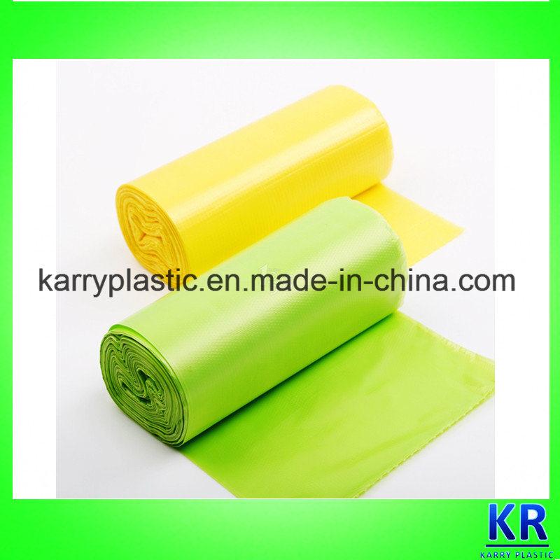 Colorful Plastic Refuse Bags Bin Liner Bags