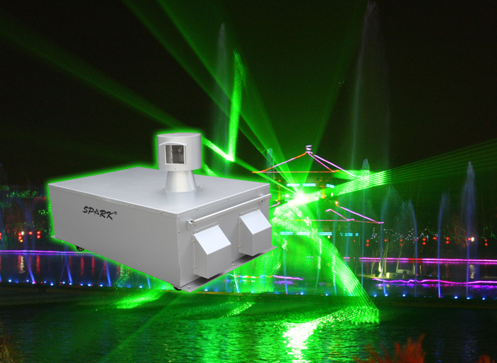 China 10w 20w 30w single green outdoor laser light show photos pictures made in - Outdoor laser light show ...