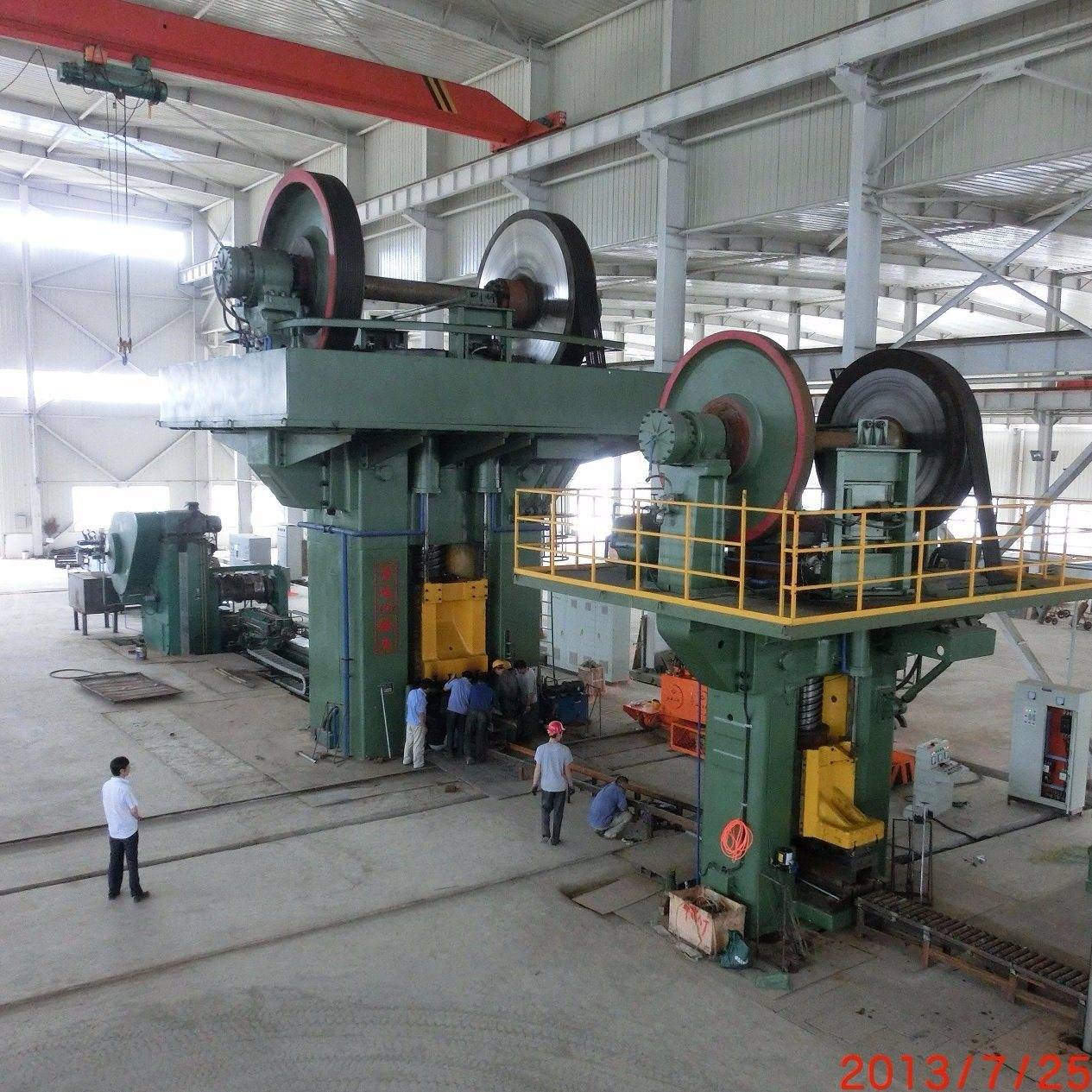 J53 2500 Tons Friction Screw Press
