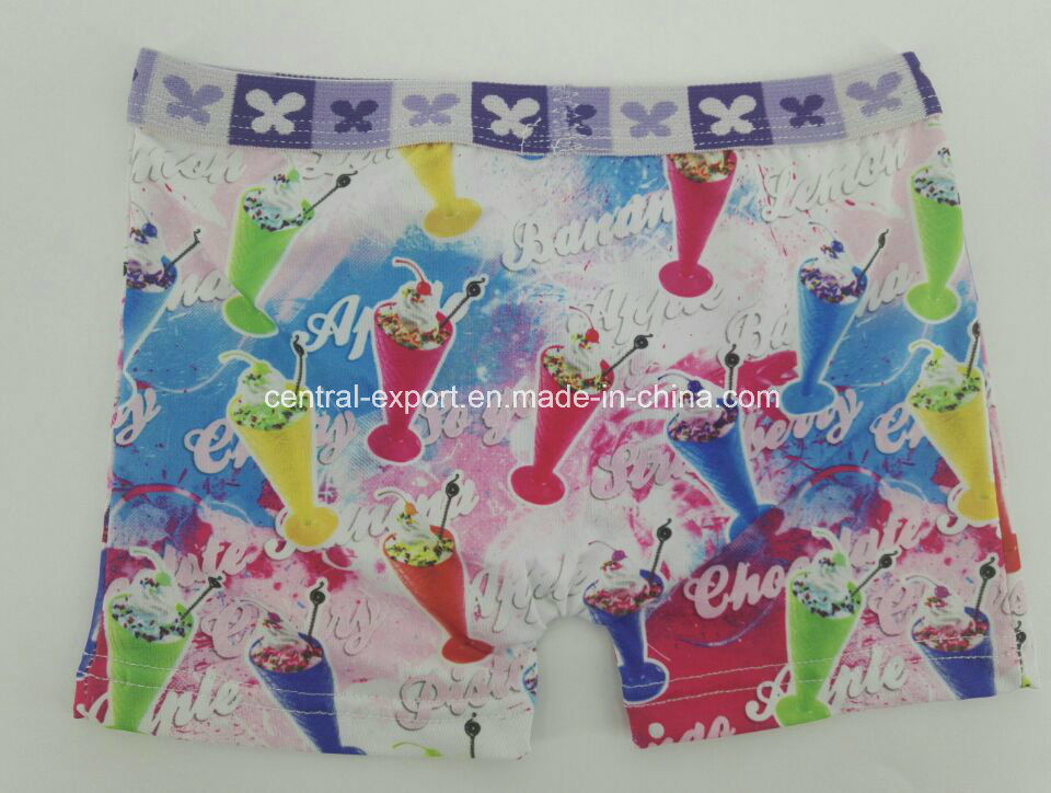 All Over Print Children Underwear Boy Boexr Short Boy Brief