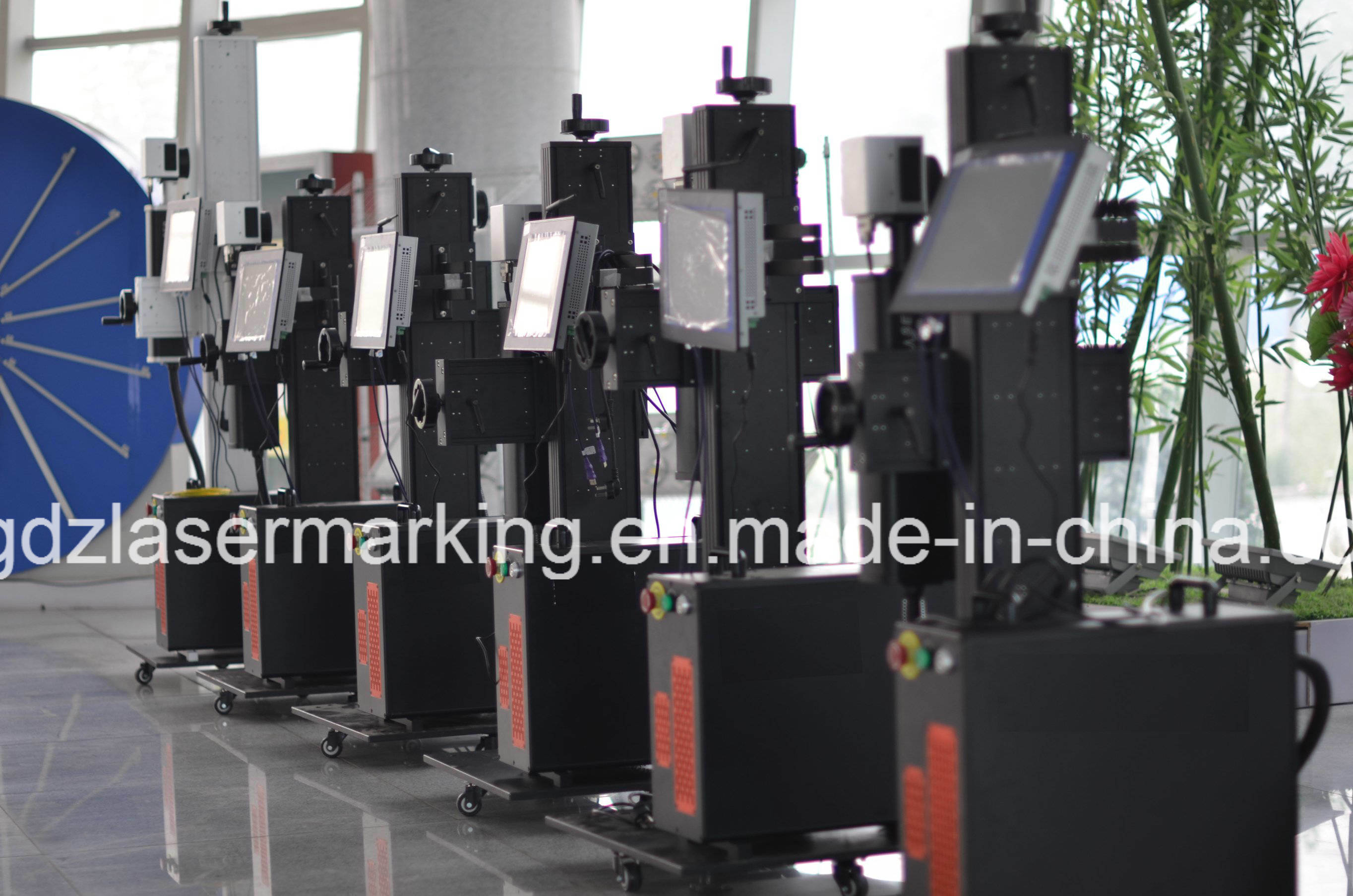 30W 50W Ipg Fiber Laser Marking Machine for Pipe, Plastic/PVC/HDP/PE/CPVC Non-Metal
