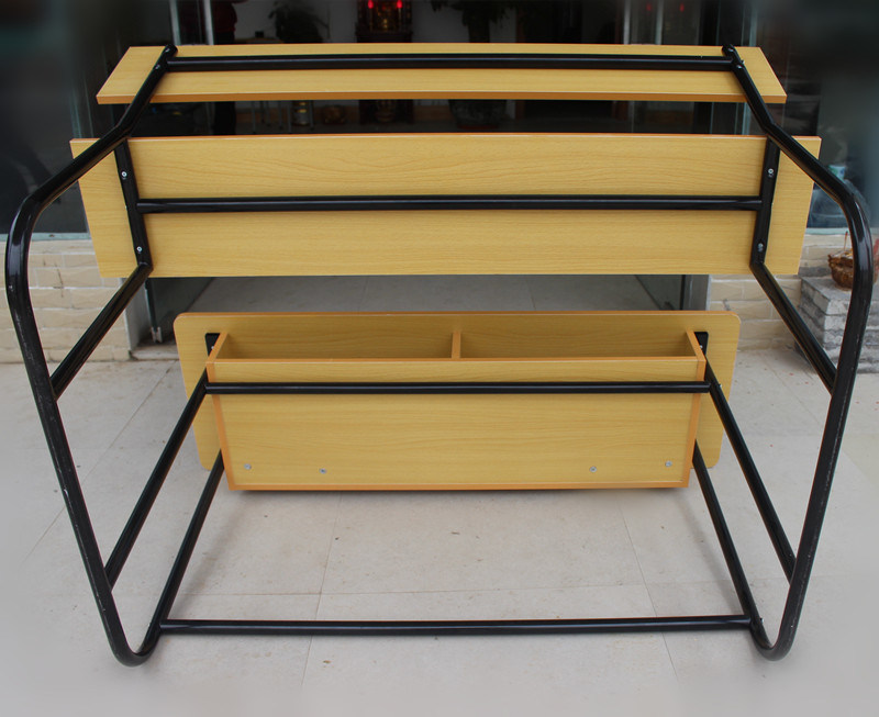 Double Student Desk and Chair /School Classroom Furniture (HT-67)