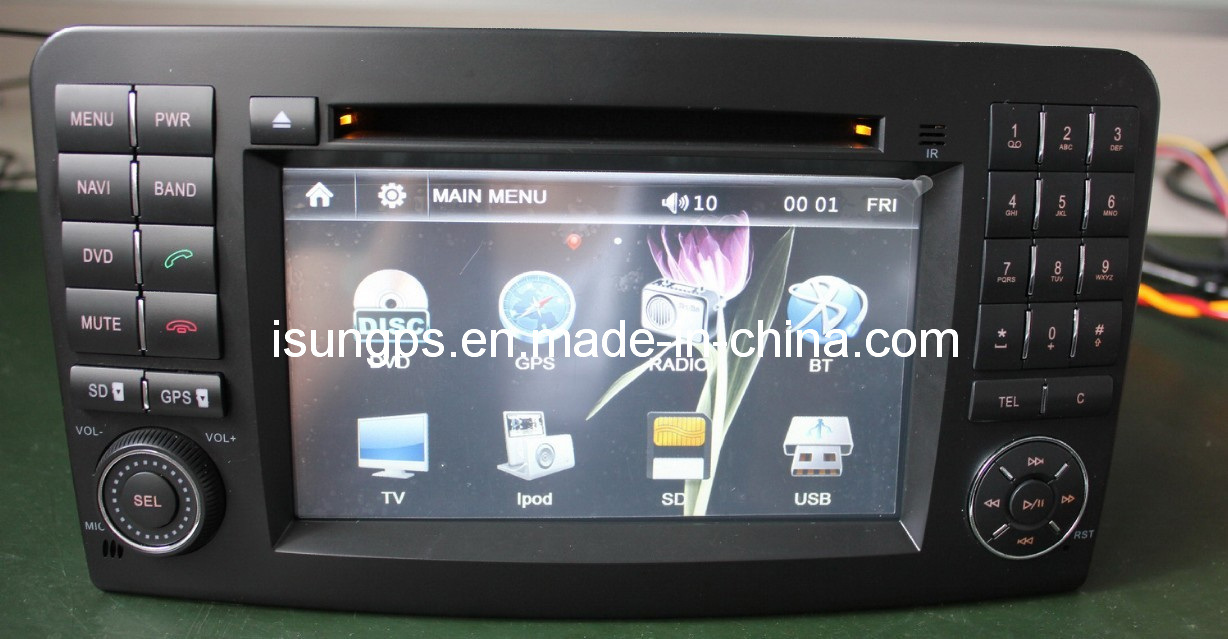 China 2 din 7 inch 800 480 digital touch screen car audio for Mercedes benz car audio