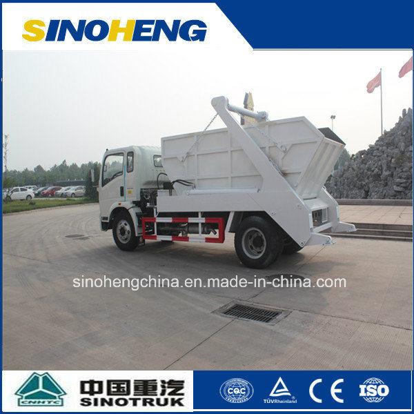 Sinotruk 5 Ton Skip Loader Truck for Transport Garbage