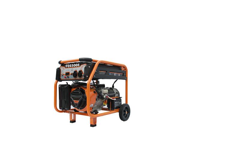 4 Stroke Engine Electric Generator Gasoline Generator 5kVA