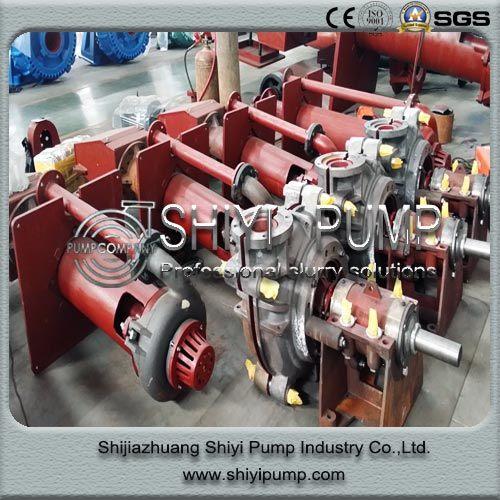 Heavy Duty Horizontal Centrifugal Water Treatment Slurry Pump Parts