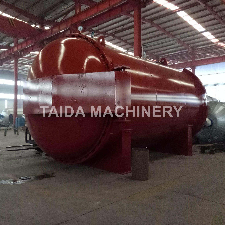 Siemens PLC Rubber Hose Vulcanization Autoclave Vulcanizing Tank Vulcanizer Machine