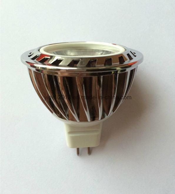 High Quality 12V DC COB LED MR16 Down Light with Lens