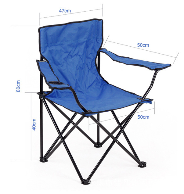 Folding Chair for Camping, Beach, Fishing (ETF06204)