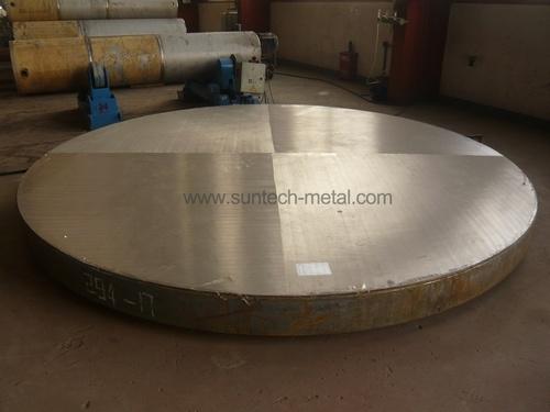 Titanium Clad Tubesheet/Tube Plate (E004)