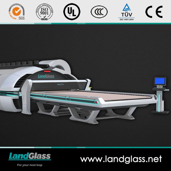 Landglass Through Horizontal Flat Tempered Glass Making Furnace Machine