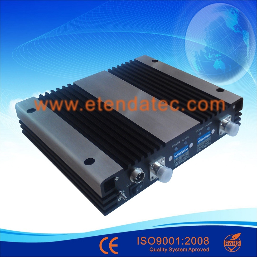 20dBm 70db Dual Band Signal Booster CDMA PCS Repeater