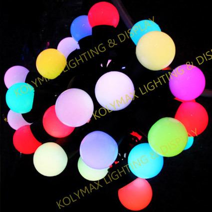 Single Color String Lights : LED Single Color & RGB String Light With Ball - China Led Light String, Led Light