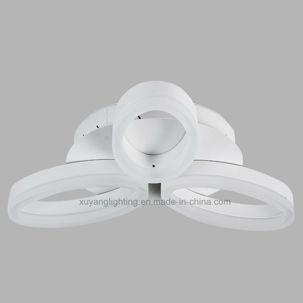 Three Petals Ceiling Light, Acrylic Decorative Ceiling Lamp