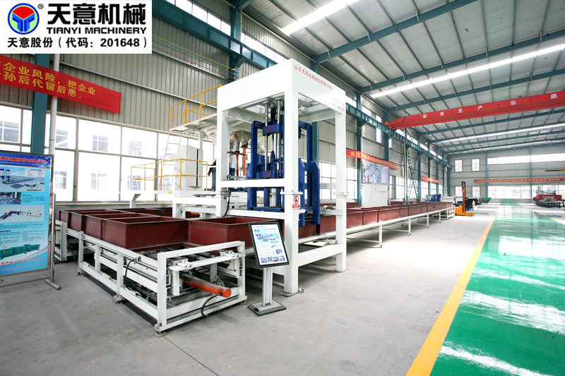 High Quality Cement Foamed Insulation Board Machine