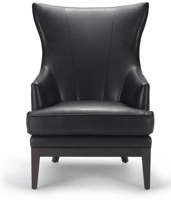 Leather and Wood Sofa Chair Big Sofa Chair (M-X1052)