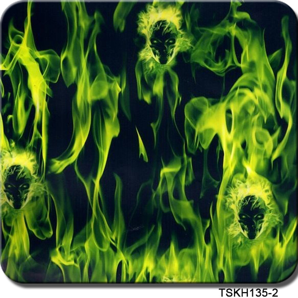 Tsautop 1m Width Water Transfer Printing Film Flame Tskh135-2