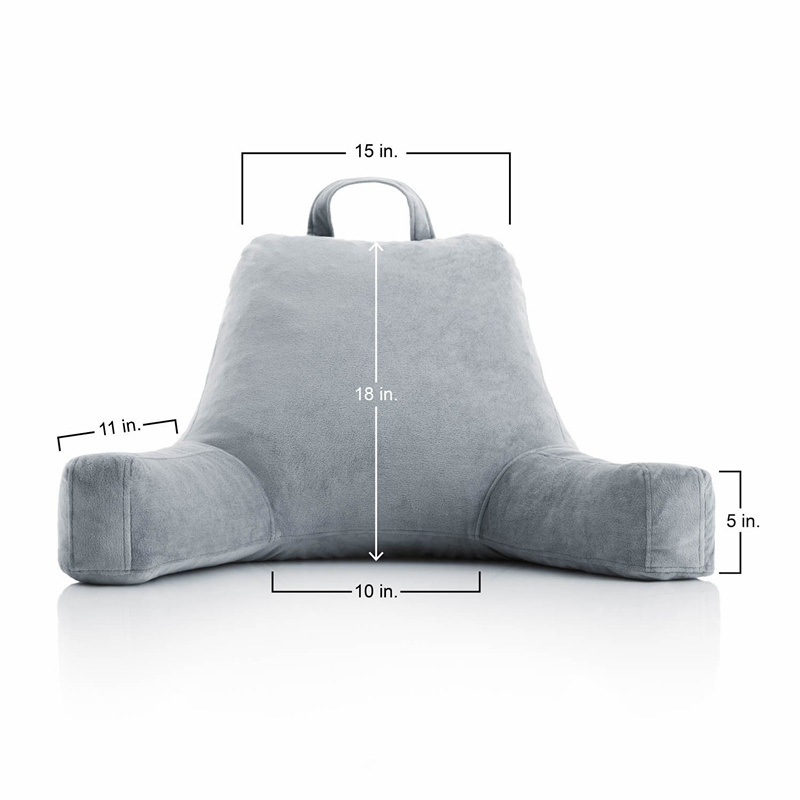 Shredded Foam Back Reading Pillow