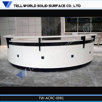 barber shop fashion design cash counter black and white salon counter marble reception desk china ce approved office furniture reception desk