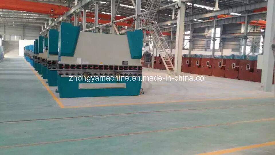 CNC Press Brake Bending Machine with 66t System Pbh-125t/2500