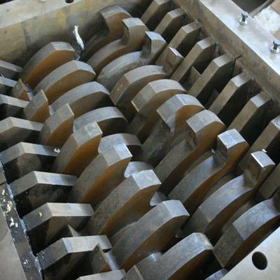 Rubber Tyre Tire Shredder Chipper Crusher Double Shaft