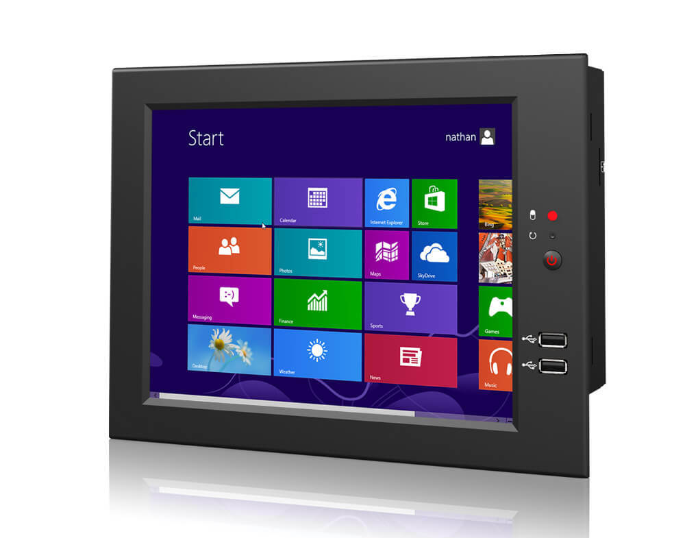 "10.4"" All-in-One Industrial Embedded Computer with Windows 7/8 System"