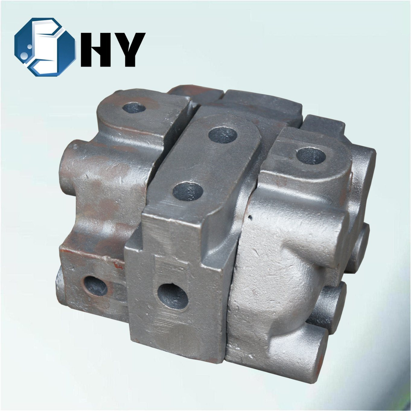 Nodular Cast Iron Resin Sand Casting for Agriculture Hydraulic Valve